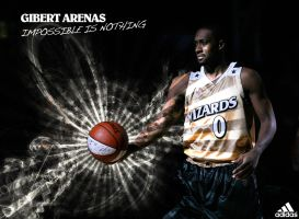Gilbert Arenas ad by FT69