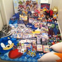 um.. So I'm a Sonic Fan...: Sonic stuff 2013 by JovialNightz