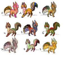 Name your price adopts 2 [CLOSED] by Vibakae
