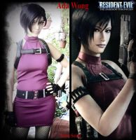 Ada Wong cosplay by Kallisi
