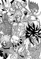 Dragon Ball Universe - Strongest News Threats by Cheetah-King