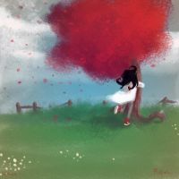 Ellie and the Father Tree. by matcon