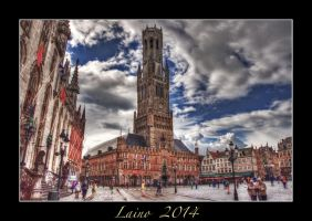 Bruges - Belfort Tower by laino