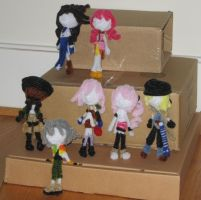 Final Fantasy XIII Dolls by bennitorimanga