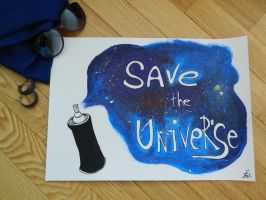save the universe by ThoughtsMasturbation