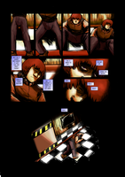 Five Nights at Freddy's : Day and Night page 22 by EyeOfSemicolon