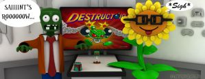 Destructoid: Plants vs Zombies by Marty--McFly