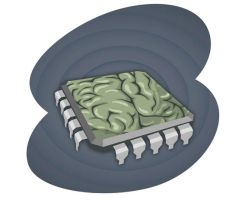 Brain chip by space-for-thought