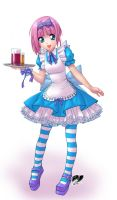Moe waitress by P-H