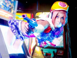 Arcade Miss Fortune by milk-dr0p
