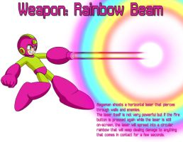 Weapon: Rainbow Beam by MegaPhilX