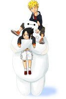 Big Hero 6: BayMax gives hugs by Feiuccia
