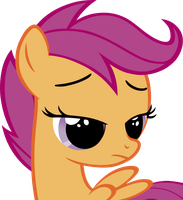 Scootaloo Is Not Amused by xn-d