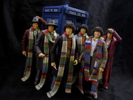 The 4th Doctors by Police-Box-Traveler