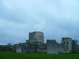 Portchester Castle by makibird