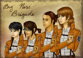 Big Nose Brigade by Laknea