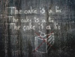 The cake is a lie by PendoX