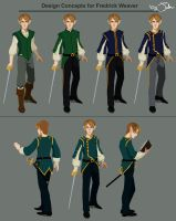 Character Design for Fredrick Weaver by MusicalNumber