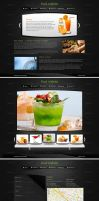 Food webinterface by Downgraf