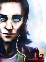 Loki - Magic by riotfaerie