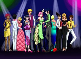 Naruto Prom by PicturePixie