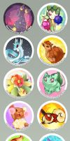 Pokemon Buttons by Joz-yyh