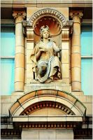 Leicester Statues and Sculpture Mythology Erato by Chrobal