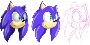 NW: Sonic Lineless Color Styles by Mephilez