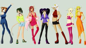7 deadly sins -Dreamghast f- by hatirrisworldproject