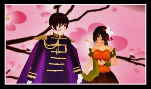 MMD Hetalia: Just Hold My Hand! by VoiceFromFuture