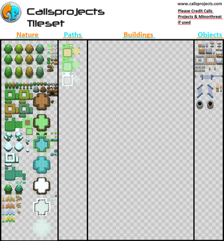 Calis Projects Tile Set by Minorthreat0987