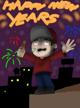 Happy New Years  by devilskull555