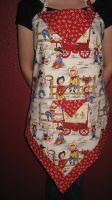 retro cowboy apron by peaceocake
