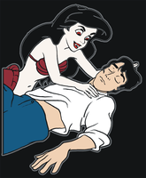 vampire Ariel and Eric by rancidom