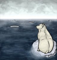 Poor Poor Polar Bear by Anuwolf