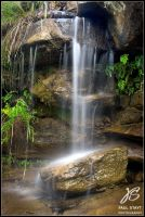 Waterfall - Long Exposure by Hacky-Sack