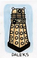 Villain Month 16 - Daleks by TRAVALE