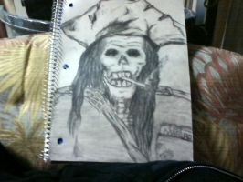 Pirate Skull by carriefawnsmom