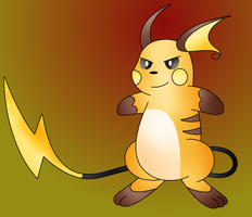 Raichu, The Mouse Pokemon by Zoruaofepic