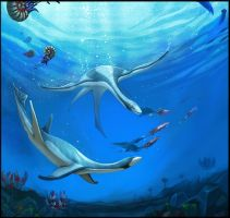Plesiosaur Reconstruction by Spiralfish