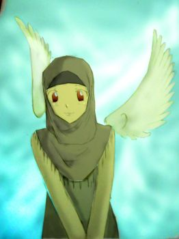 Muslim angel by liva-chan