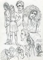 HP Sketches by Chashirskiy