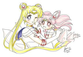 Sailor Moon: Mother Daughter by AnimeJanice