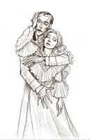Music of the Night Sketch by Muirin007