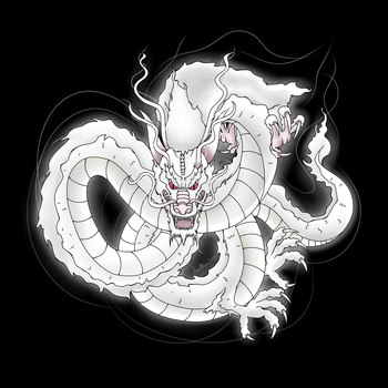 Chinese Dragon | Commission by LizaByte