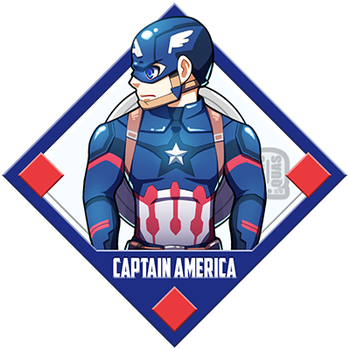 Marvel - Captain America by Quas-quas