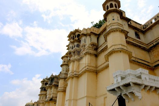City Palace, Udaipur by thedevilwearstophats
