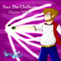 Face The Challenge! Happy Birthday Gift To MRU! by RunnerGuitar