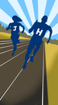 B1 Track Records Cover by JHUCartoons