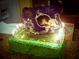 Where The Wild Things Are Cake by adorkable-cuteness